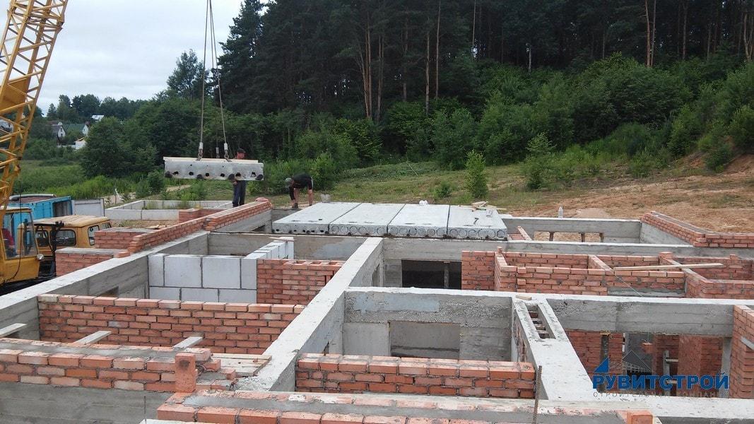 проекты домов под плиты перекрытия
