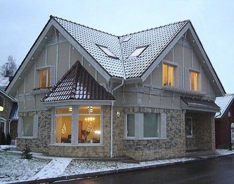 Проекты домов из керамзитобетона бесплатно лестница полированный бетон